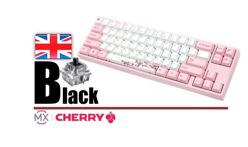Ducky Channel Varmilo MIYA Pro Sakura Edition MY69NL1P/DP88U